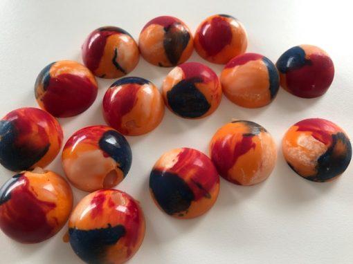 Koningsdag bonbons, oranjebitter