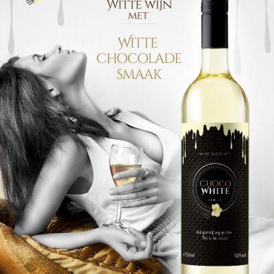Chocoladewijn wit en rood