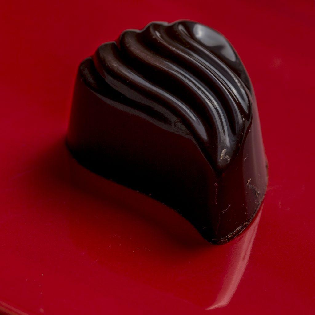 Pure chocolade met Kersenstroop